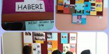 Boyabat Fatih Sultan Mehmet İmam Hatip Ortaokulu ilk okul gazetesini çıkardı