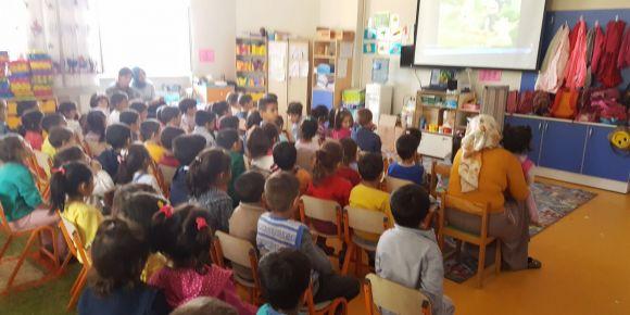 Öğrencilerin semineri