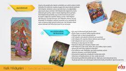 Halk hikâyeleri hakkında bilgi verilmiş, tür özellikleri anlatılmıştır.
