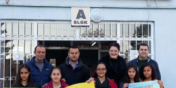 Kırşehir Kaman Yenihayat Ortaokulu e-twinning afiş yarışması sonuçlandı