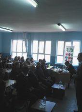 Malatya Yeşilyurt Gündüzbey Anadolu Lisesi'nde Öğrenci - Yazar Buluşması
