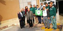 Maraton Nalcacilar taraftar grubu Konya Görme Engelliler Okulunu ziyaret etti