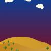 Arka Plan - Background - Çöl - Desert