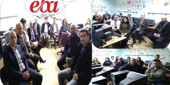 Bursa Yıldırım Nuri Erbak Ortaokulu yeni EBA bilgilendirme toplantısı