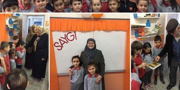 """Ordu Fatsa Hatice Bahaettin ŞENER İlkokulu'nda """"Saygı"""" ile İlgili Örnek Uygulama"""