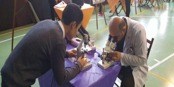 Kocaeli Körfez Oruç Reis Anadolu Lisesi'nde bilim şenliği etkinlikleri