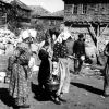 Ankara Beypazarı Yemek Dağıtan Kadın