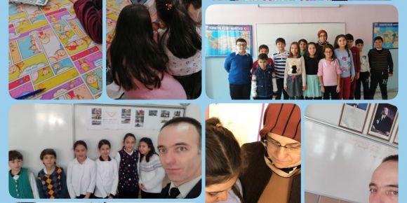 I speak English eTwinning projesiyle İngilizce konuşmaktan korkmuyoruz