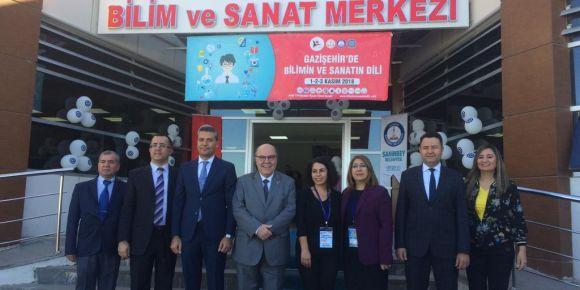 TÜBİTAK 4007 Gazişehir' de Bilimin ve Sanatın Dili Projesi