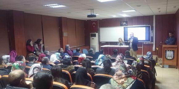 Kahramanmaraş Anadolu Lisesi veli toplantısı
