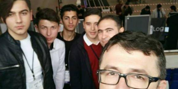 Adana Kurttepe MTAL 2. Uluslararası Marmara Robot Olimpiyatları´na katıldı