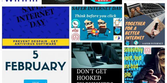 """""""Funny English""""  eTwinning projesinde  Güvenli İnternet Günü etkinlikleri"""