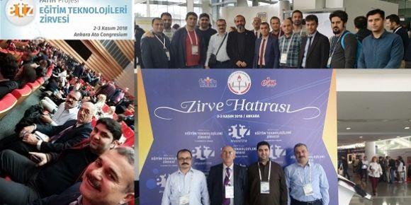 Bursa Fatih Eğitmenleri Fatih Projesi Eğitim Teknolojileri Zirvesi'nde