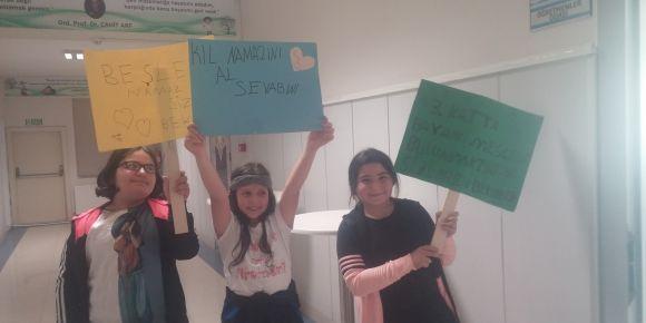 Şehit Birol Yavuz İmam Hatip Ortaokulu'nda 5. sınıflara Okul Mescidini Tanıtma Etkinliği