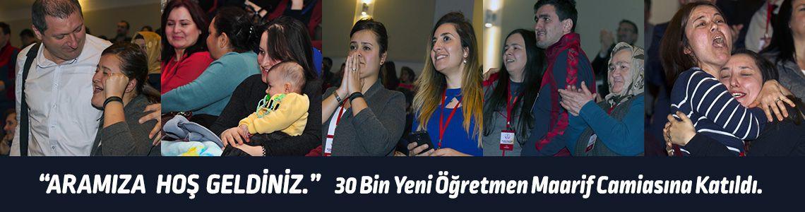 """""""Aramıza Hoşgeldiniz"""" Maarif camiasına 30 bin yeni öğretmen"""