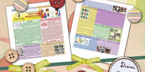 Proje gazetemiz yayınlandı