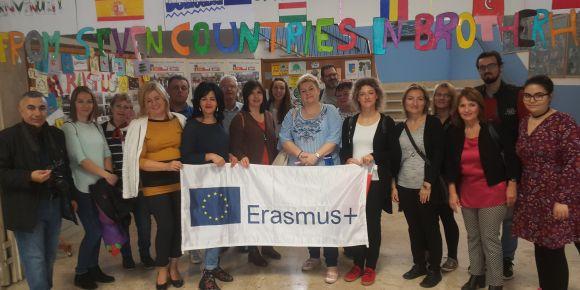 Üçüncü Erasmus+ projeleri ile ülkemizi İtalya'da temsil ettiler