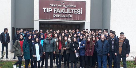 12. Sınıflarımızla Fırat Üniversitesine Tanıtım Gezisi
