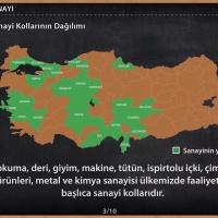 Türkiye'de Sanayi Kollarının Dağılımı