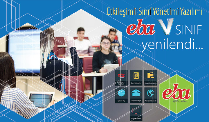 Etkileşimli Sınıf Yönetimi Yazılımı EBA VSınıf Yenilendi