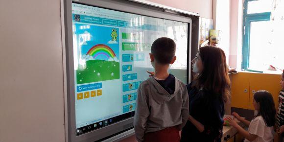 Anasınıfı öğrencileri DIGIKIDS etwinning projesi ile kodluyor
