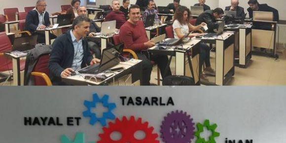 Fatih Projesi Eğitmenleri Arduino Uygulamaları Kursu'nda