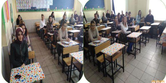 Bursa-Yıldırım Değirmenönü İlkokulu' da  EBA tanıtım semineri yapıldı
