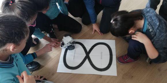 Fatih Sultan Mehmet Ortaokulu Avrupa Robotik Haftasında