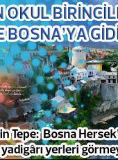 Gaziantep Şahinbey'in Torunları Bosna'ya gidiyor