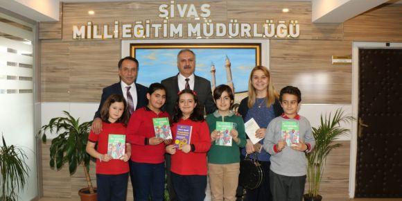 Sivas İl Milli Eğitim Müdürü Mustafa Altınsoy'u ziyaret