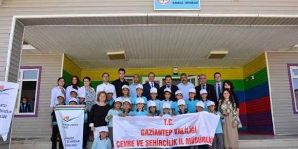 Gaziantep'te çevre eğitimi