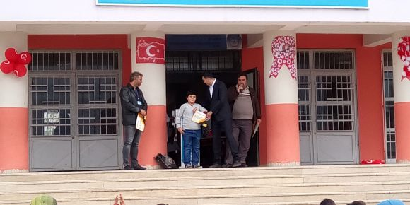 Yahya Kemal'de özel öğrenciler güzel seviniyorlar