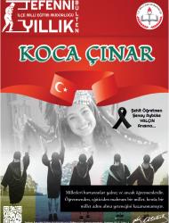 Koca Çınar-Tefenni İlçe MEM Yıllık Bülteni
