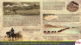 İlk Türk devletlerinde; coğrafi koşulların ve sosyal yaşamın iktidar gücünü belirlemede ve yön vermedeki etkisini konu eden infografik çalışma