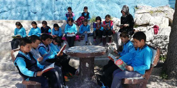 5-a sınıfı kitap okuma etkinliği