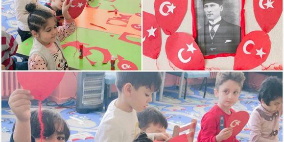 29 Ekim Cumhuriyet Bayramı bayrak etkinliği