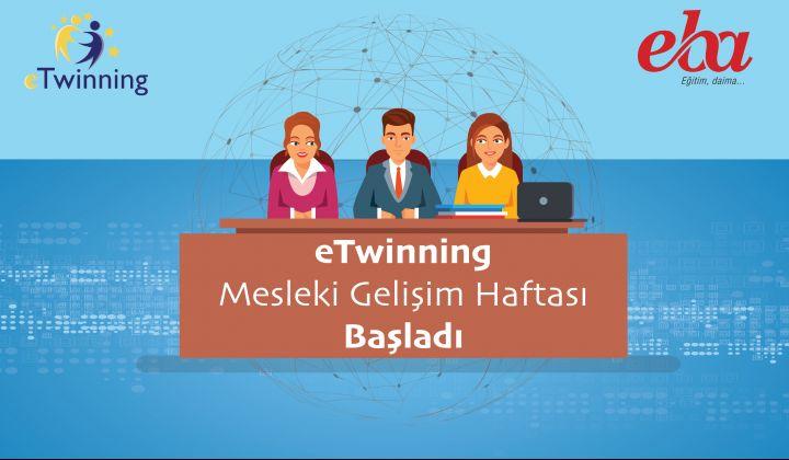 eTwinning Mesleki Gelişim Haftası Başladı