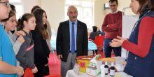 K.A.Alper Yazoğlu Ortaokulu'nda Kan Ver Can Ver projesi