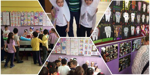 Rahmi Mihriban Bedestenci İlkokulu 1-C sınıfı öğrencilerinin eTwinning projesi sergisi