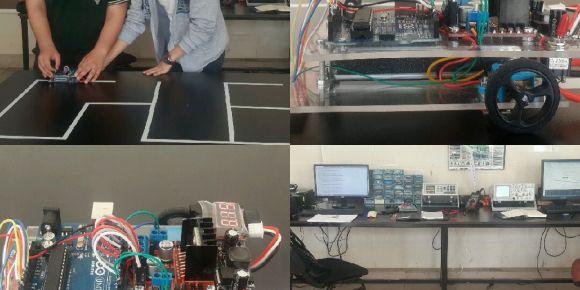 Mezitli MTAL robotik ve programlama kulübü labirent çözen robot projesini tamamladı