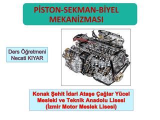 Piston, Sekman, Biyellerin Yenileştirilmesi