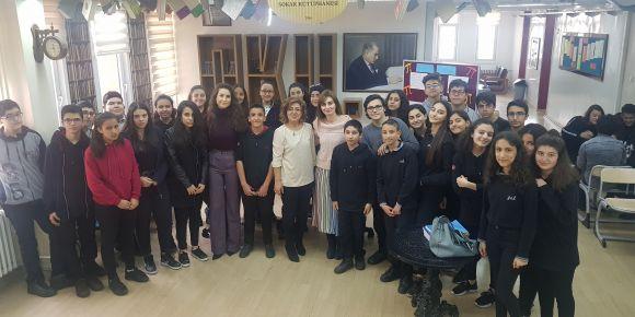 Gaziantep Anadolu Lisesinde  Dünya Pi günü etkinlikleri yapıldı.