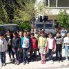 Dünya Yeşeriyor Hayaller, Gerçekleşiyor proje ekibi polis amcalarını ziyaret etti