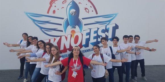 Tekno Fest İstanbulda İFL ve Robotlarımız