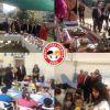 Kan bağışı kampanyası ve organik ürün pazarı