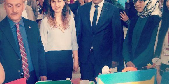 Iğdır 15 Temmuz Şehitleri Anadolu Lisesi bilim fuarı