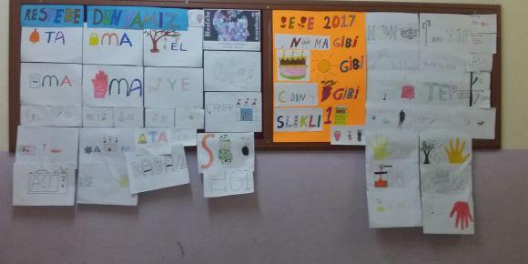 Cumhuriyet Ortaokulu Öğrencileri Kendi resfebelerini Yazıyor