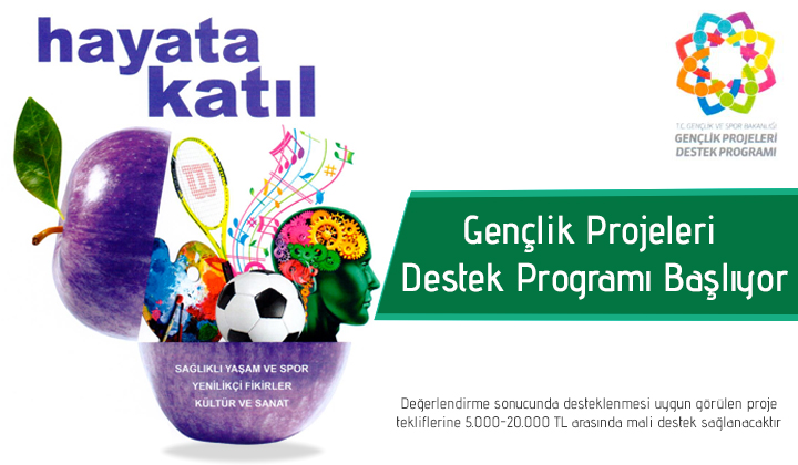 Gençlik Projeleri Destek Programı 2018