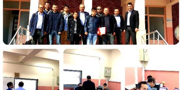 Okulumuzdaki Fatih projesi alt yapı testi sona erdi