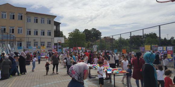 Ören İlkokulu'ndan etwinning proje sergisi